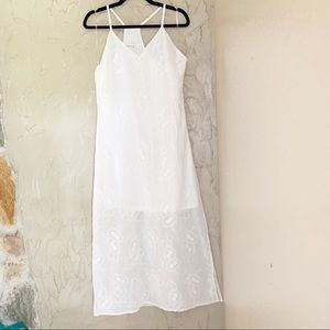 Dresses & Skirts - Embroidered Slip Dress